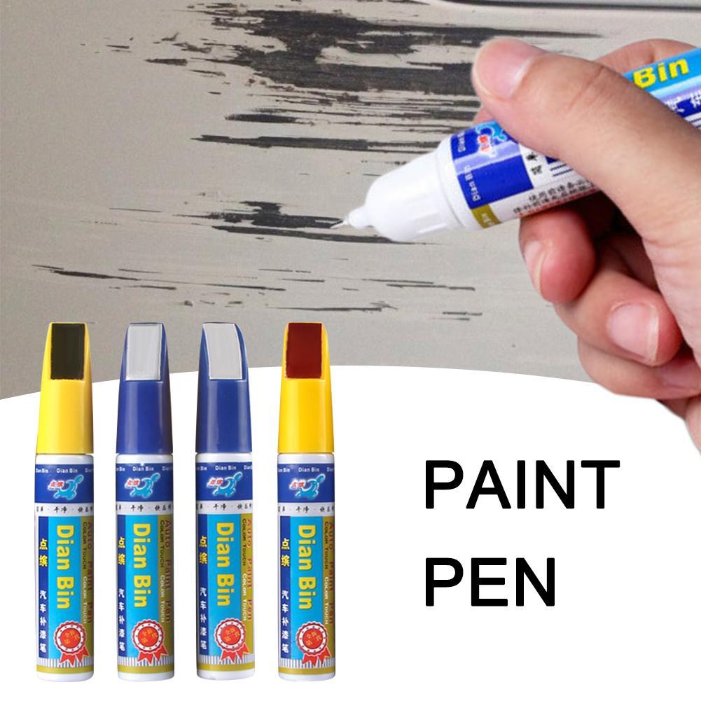 1 шт Профессиональная специальная автомобильная краска для ремонта царапин, ручка для ремонта царапин, цвет белый, черный, серебристый, ручка для ремонта царапин