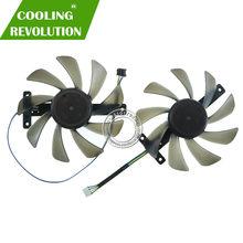 CF9015H12S DC12V 0.40A grafik fan ZOTAC ZT-T20810G-10P GeForce RTX 2080 Ti 11GB GDDR6 352Bit