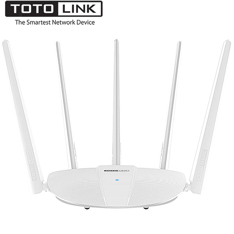 TOTOLINK A810R Smart AC1200 Wireless Dual Band Wifi Router Wi-Fi Universal Repeater, support PPTP/L2TP/Range Extender,Easy Setup