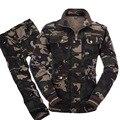 Военная Униформа тактические камуфляжные костюмы армейская Боевая куртка брюки карго Uniforme Militar тактический CS Softair Мужская Рабочая одежда