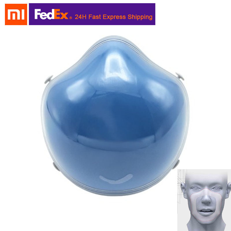 Stock Xiaomi Mijia Q7 5V Electric Face Masks Anti-haze Sterilizing Provides Active Air Supply PM2.5 Filter Respirator Dustproof