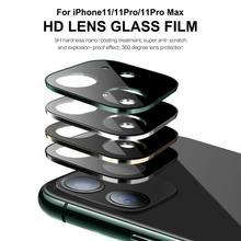 Металлический Камера объектив пленка Титан сплав с полным покрытием Защитное устройство для объектива телефона Камера объектив для iPhone 11/11 Pro Max Аксессуары для мобильных телефонов