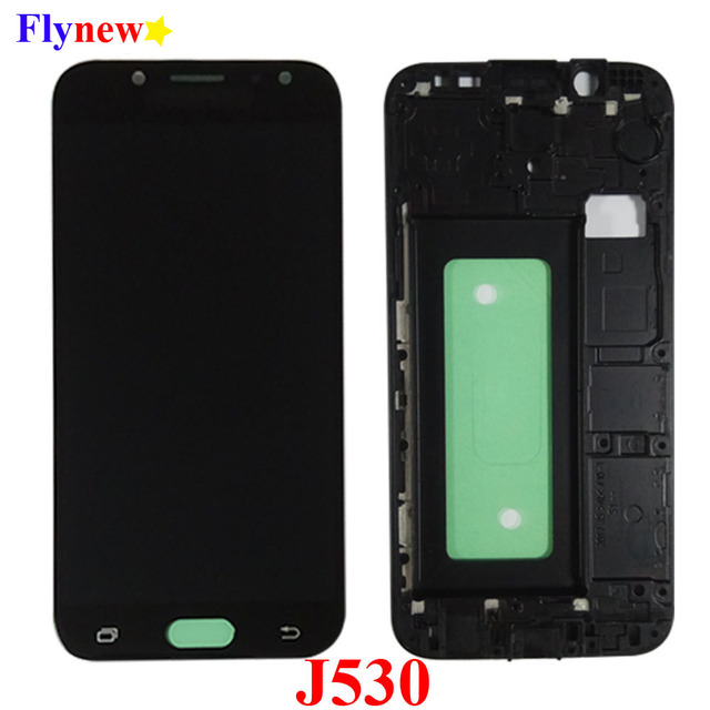 J530F lcd For SAMSUNG Galaxy J5 Pro 2017 J530 SM J530FM LCD Display Touch Screen Panel Pantalla Digitizer Assembly With frame