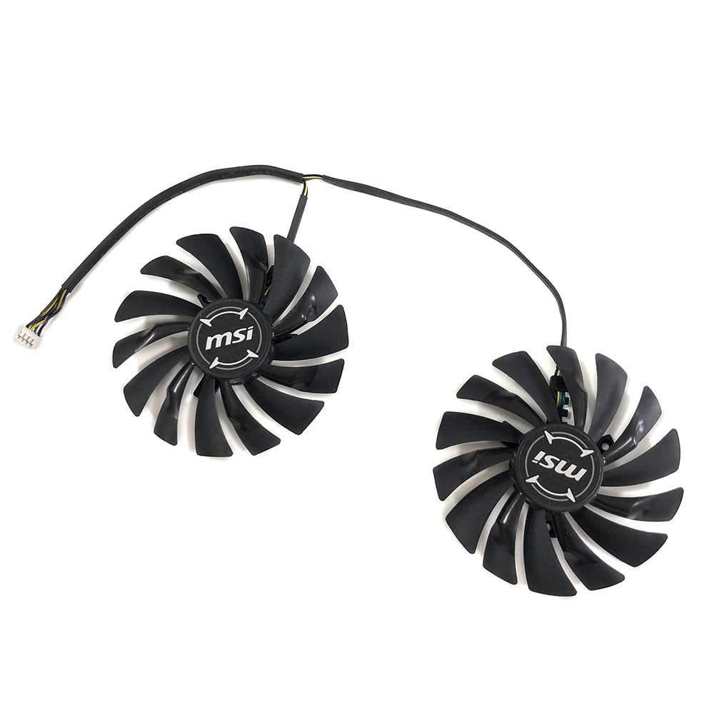 PLD10010S12HH PLD10010B12HH GPU Fan For MSI RX480/580/470/570 GTX950/960/970/980/1060/1070/1080/1080Ti R9 290X/280X/270X Cooling