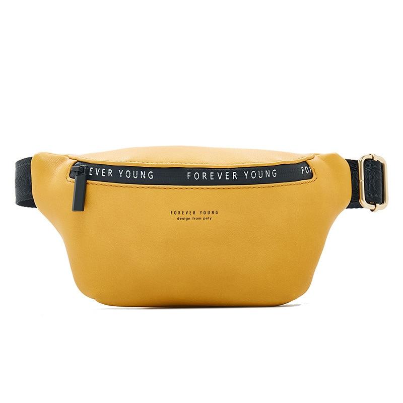 Women Streetwear Fanny Pack Multi-function Waist & Chest Bag Ladies Hip Belt Bag Female Shoulder Bag Waist Pack Ladies Pouch NEW