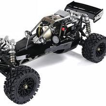 1/5 RC автомобиль ROFUN 450A 45CC двигателей бензина с BER 2,4 г светодиодный экран 3 канальный Дистанционно управляемый для baja