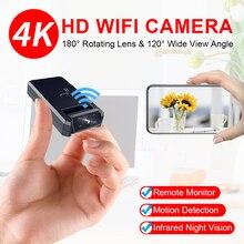JOZUZE 4K Mini Camera WiFi Smart Wireless Camcorder IP Hotspot HD Night Vision Video Micro Small Cam Motion Detection
