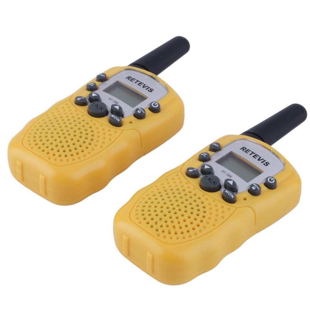 2x RT-388 Walkie Talkie 0.5 W 22CH Twee Manier Radio Voor Kinderen Kinderen Gift.