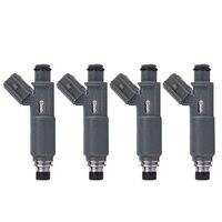 4PCS Fuel Injector Nozzle 23209 0H010 23250 0H010 for TOYOTA 2001 2004 Highlander Solara Camry 2.4L L4