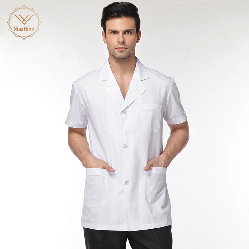 New High Quality Medical Clothing Dentist Shirts Lab Jackets Men And Women Doctors Uniforms Pharmacy Lab Coat Medical Clothing