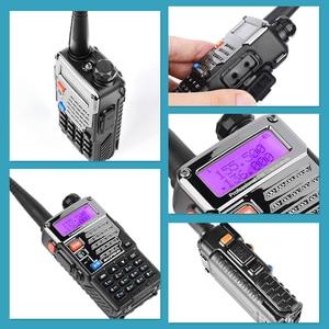 Image 2 - 2 шт BaoFeng UV 5RE двухдиапазонный 136 174/400 480 МГц 128CH FM радио