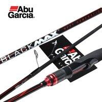 Original Abu Garcia New Black Max BMAX Baitcasting Lure Fishing Rod 1.98m 2.13m 2.28m UL M MH Power Carbon Spinning Fishing Rod