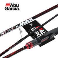 Originale Abu Garcia New Black Max BMAX Baitcasting Richiamo Canna Da Pesca 1.98m 2.13m 2.28m UL M MH potenza di Carbonio Spinning Canna Da Pesca