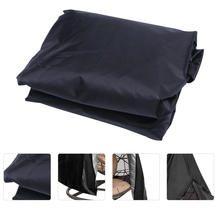 1PC Garden Swing Protective Cover Waterproof Courtyard Hammock Tent (Black)(China)