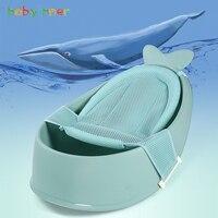 Baby Inner Cartoon Portable Baby Shower Bath Tub Pad Non Slip Bathtub Mat Newborn Safety Bath Breathable Bath Mat