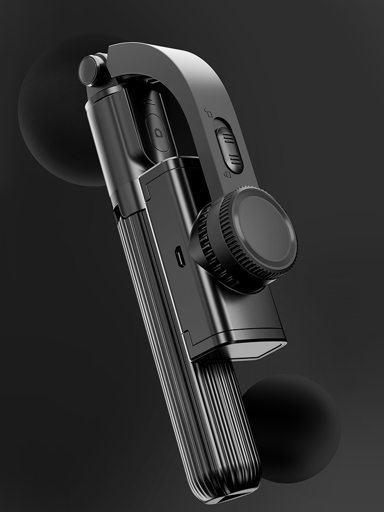 Selfie-Stick Gimbal-Stabilizer DIER Phone Outdoor-Holder COOL Handheld Bluetooth Wireless