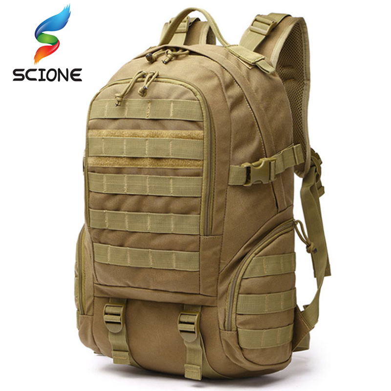 Hot Molle Tactical Military Backpack Waterproof Army Rucksack Outdoor Hunting Camping Fishing Bag Women Multifunction Sports Bag