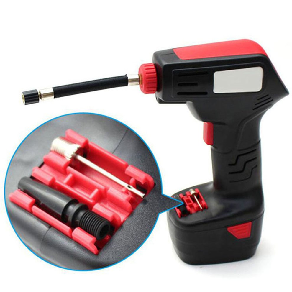 Digital LED Smart Car Air Compressor Pump Portable Handheld Car Tire Inflator Electric Air Repair Tool Accessories