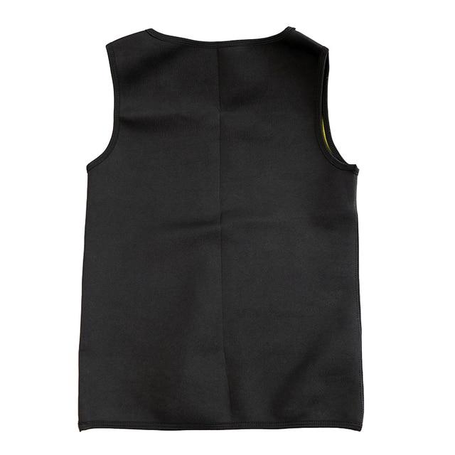 Slimming Belt Belly Men Slimming Vest Body Shaper Neoprene Abdomen Burning Shapewear Waist Sweat Corset Weight Dropshipping-Xxl 3
