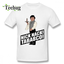 James Bond 007 t shirt Hipster For Unisex Nick Nack Tabasco T Shirt Popular Custom Graphic Boy Camiseta
