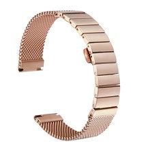 Ремешок для часов универсальный легкий однотонный браслет с