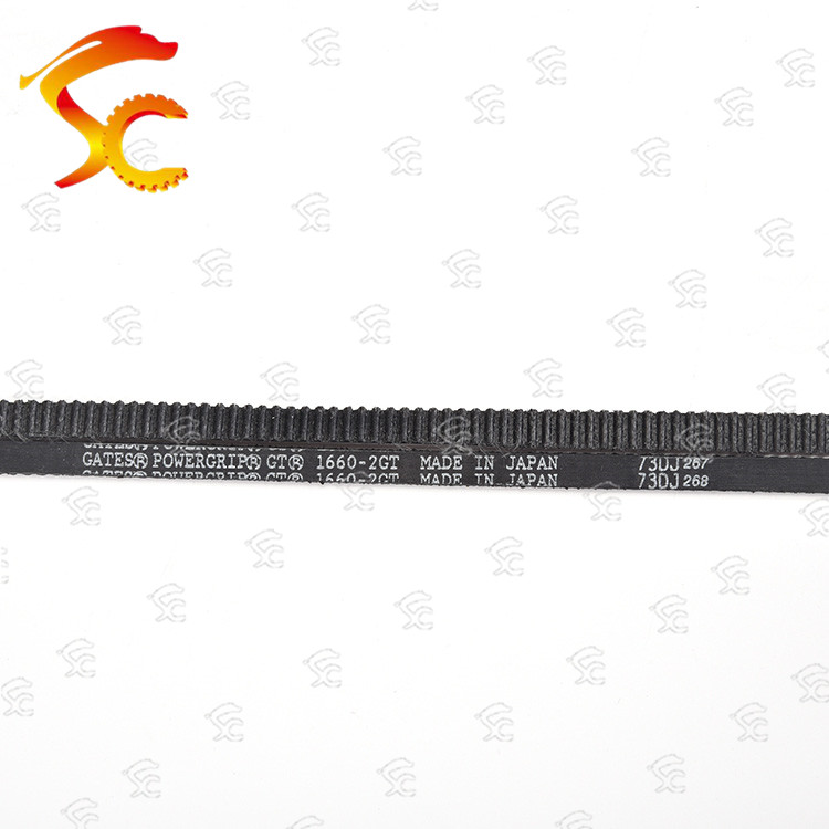 3D printer Timing belt closed loop rubber GT2 1660 teeth 830 length 1660mm width 20mm 15mm 12mm 10mm 9mm 1660-2GT GATES Brand image