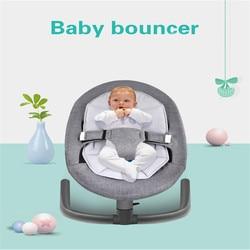 Baby Schaukel Stuhl für Aluminium Neugeborenen Schaukel Türsteher Stuhl Infant Schlaf Korb Automatische Wiege für Kleinkind