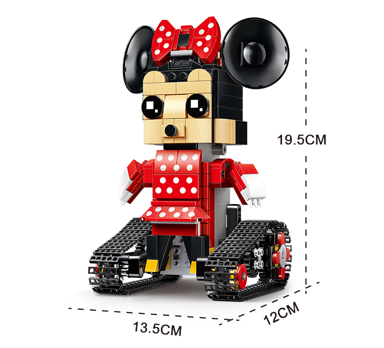 MOULD KING  Technic Crawler robot Walking Building Block 12