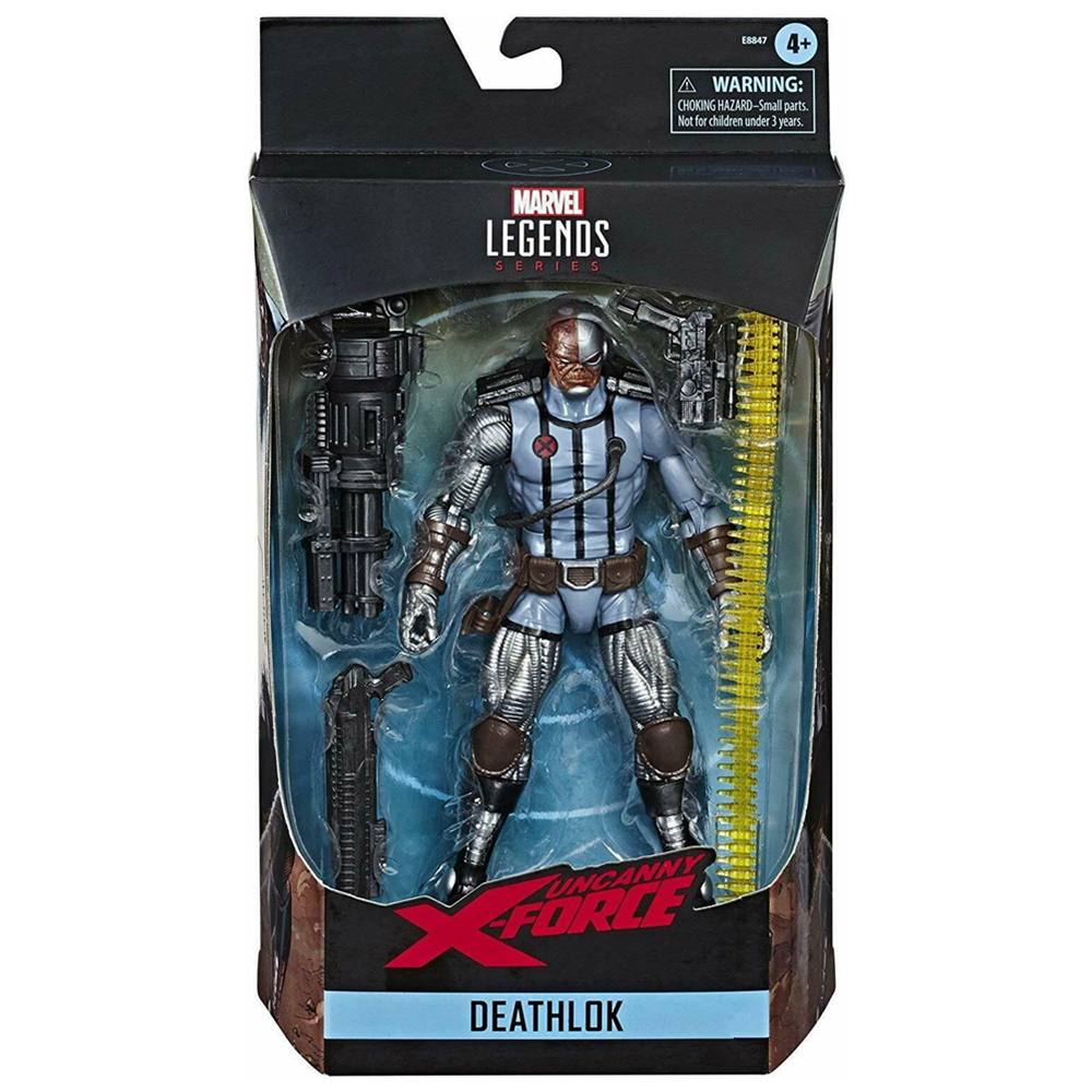 Marvel Legends X-Force Uncanny Variant Deathlok Blue 6