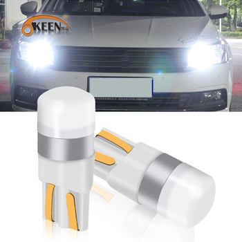 OKEEN T10 W5W LED Car Clearance Lights Reading Lamp 3030 SMD Auto Interior Vehicle Dome Door Bulb Accessories Trunk light 6000K