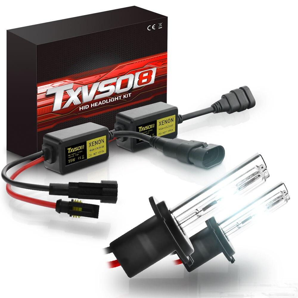 txvso8 as ultimas 55w escondeu lampadas de farol de carro xenon h1 h3 h4 9005 hb3