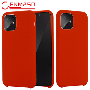 Image 1 - For Iphone 11 5.8 Inch 2019 Case Soft Liquid Silicone Back Cover for Iphone 11 pro Max 5.8 6.1 6.5 2019 Shockproof protect Case