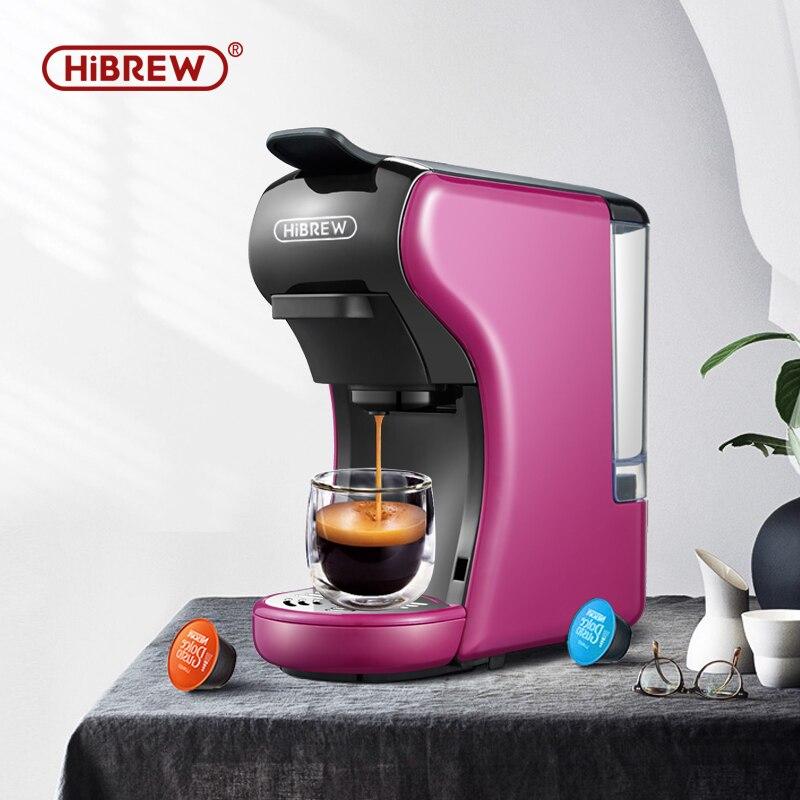 Máquina de café expreso múltiple HiBREW 3 en 1, cafetera Espresso Dolce gusto nespresso, cápsula de café molido