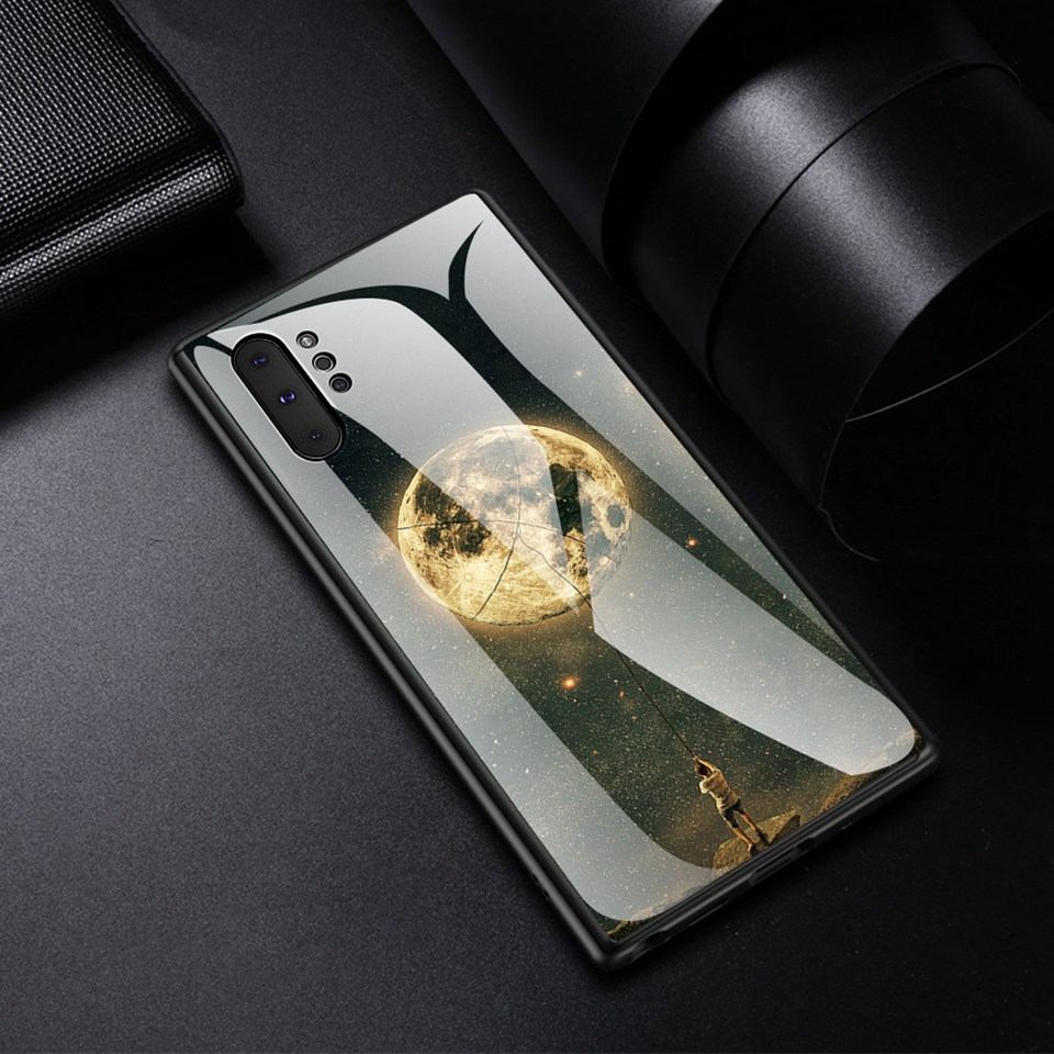 Luxury Glass Case For Samsung Galaxy Note 10 Pro 9 8 Note10 A50 A70 A50s A30s A30 A20 A10 J4 A7 2018 S8 S9 S10 Plus Phone Cover (16)