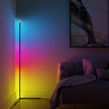Modern LED Floor Lamp Colorful Stand Light Atmosphere Floor Lamp Living Room Home Decorative Indoor  Reading Standing Lamps