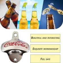 Abridor de cerveja de boa aparência engraçado tipo de suspensão de parede abridor de cerveja abridor de garrafa de cerveja exclusivo durável casa ferramenta de cozinha presente do negócio