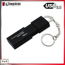 Kingston-clé USB DT100G3, 100% Original, 16 go, 32 go, 64 go, 128 go, 256 go, bâton de mémoire, clé USB 3.0