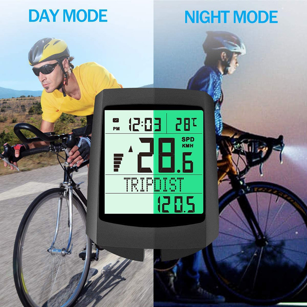 Cycling Speedometer For Xiaomi Bicycle Multifunction <font><b>Bike</b></font> Computer Luminous Odometer LCD Display Digital Wireless <font><b>Speed</b></font> <font><b>Meter</b></font> image