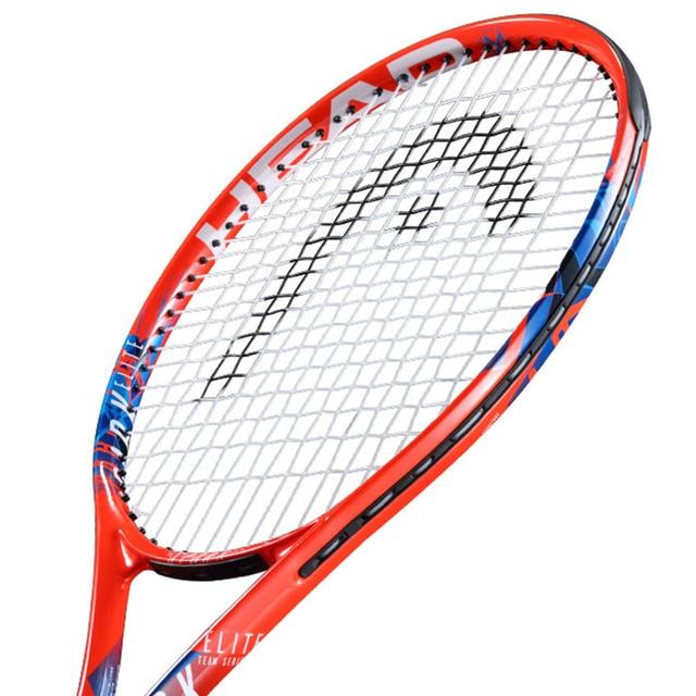HEAD Tennis Racket Carbon Aluminum Alloy Women Men Raqueta De Tenis Tenis Racquet Set String With Bag Hand Glue Match Training