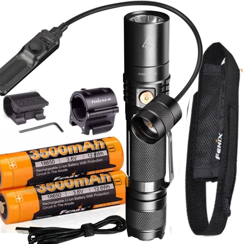 Fenix PD35 V2.0 2018 Upgrade 1000 Lumen Flashlight High Capacity Rechargeable