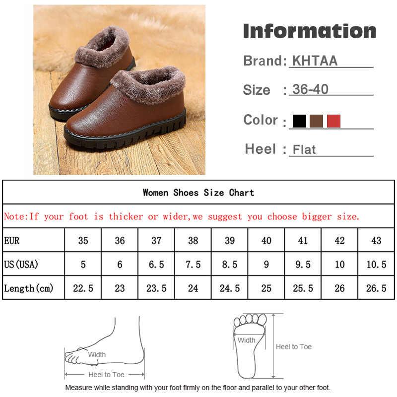 Kadın sıcak kar botları kış su geçirmez yarım çizmeler kadın yumuşak PU deri kadın rahat bayan kısa peluş kadın ayakkabısı