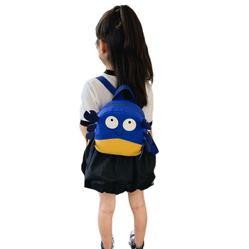 Cute Children Boys Girls Backpack Portable Casual Cartoon Animal Shape Wear-resistant Schoolbag Light Weight Multi-color Bags