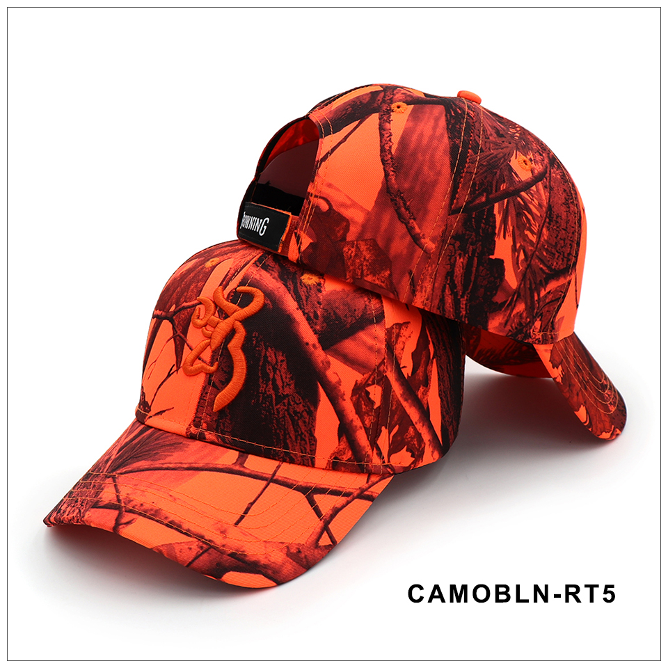 CAPSHOP 2020 New Camo Baseball Cap Fishing Caps Men Outdoor Hunting Camouflage Jungle Hat Airsoft Tactical Hiking Casquette Hats 5