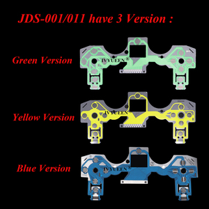 Image 5 - IVYUEEN Replacement Buttons Ribbon Circuit Board for PS4 Dualshock 4 Pro Slim Controller Conductive Film Keypad flex Cable PCB