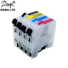 Ink-Cartridge Auto-Reset J2320 MFC-J2720 Refill J2720-Printer BOMA.LTD LC665 with Arc-Chip