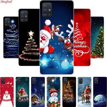 Funda de Navidad para Meizu Nota 8 M5C M6 caso de Navidad suave de silicona caso de la cubierta para Meizu Pro 6 Plus M5s M15 más M9C caso