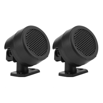 1 Pair 12V 500W Car Tweeter Dome Loudspeaker Super Power Loud Audio Sound Speaker Round Tweeter For DC 12V Motocycle Car image