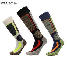 2018 Лыжные носки футбола футбольный носок из хлопка для мужчин