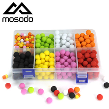 Mosodo Carp Fishing Pop Ups Beads Floating Bead Boilies EVA PVA pop-up Pop Up Lure Bait Lures Colored In One Box