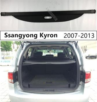 Rear Trunk Cargo Cover Security Shield For Ssangyong Kyron 2007 2008 2009 2010 2011 2012 2013 High Qualit Auto Accessories